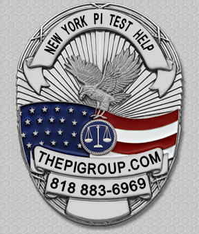 study guide NY PI license test